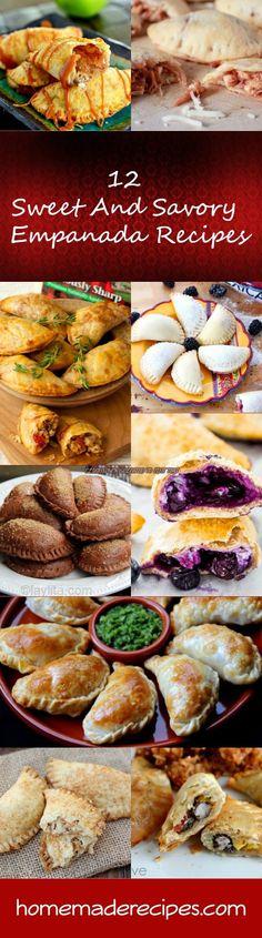 12 Sweet And Savory Empanada Recipes