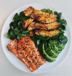 Here's Five delicious and easy Protein ideas for Dinner! Recipes below👩🏻🍳 Salmon, Prawns, Chicken, Eggs or Scallops. Which is your favourite?😍 ⠀ ⠀ All dishes are 500 CALORIES or less! ⠀ ⠀ 🍣SALMON🍣 Grilled salmon (cooked in olive oil Healthy Meal Prep, Healthy Snacks, Healthy Recipes, Healthy Food Tumblr, Keto Recipes, Healthy Cake, Healthy Eating Habits, Skinny Recipes, Fruit Recipes