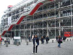 Centro Georges Pompidou  Paris