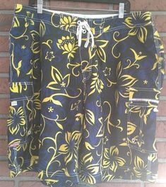 Swim Trunks Men L Euc Rich And Magnificent Disney Freaky Tiki Mickey Mouse Board Shorts Apparel & Accessories