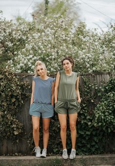 NEW Rompers! Our sporty, chic rompers are NOW available in our slimming Pana Stripe print & girly unique Sage color. These rompers are as comfortable as they are cute! Perfect for working out, going out AND hanging out! Give all of our rompers a closer look at albionfit.com -- Blossom Fitness Collection   @albionfit