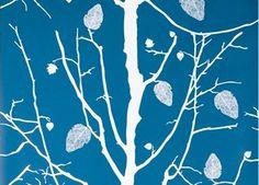 stijlvol behang papier 'family tree'