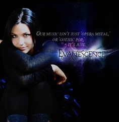I just love this <3 EVANESCENCE! =)