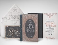 "Check out this @Behance project: ""1920s New Orleans Wedding Invitation"" https://www.behance.net/gallery/19062215/1920s-New-Orleans-Wedding-Invitation"