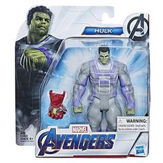 Hasbro Marvel Avengers: Endgame Hulk Deluxe Figure From Marvel Cinematic Universe Mcu Movies Multi Figurines D'action, Figurine Avengers, Hulk Marvel, Spiderman, Batman, The Avengers, Avengers Film, Dope Cartoon Art, Games