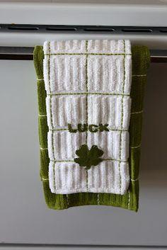 Cute no-sew towel