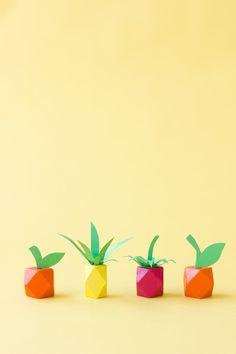 Make Mini Fruit from Beads!