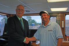 Art Carson and Captain Robert Anthony,  Nashville, September 2010