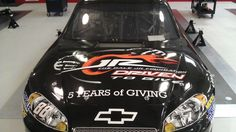 ARTICLE (May 11, 2012): Dale Earnhardt Jr.'s No. 88 Chevrolet to feature The Dale Jr. Foundation for Sprint All-Star weekend. Read more: http://www.hendrickmotorsports.com/news/article/2012/05/11/Dale-Earnhardt-Jrs-No-88-Chevrolet-to-feature-The-Dale-Jr-Foundation-for-Sprint-All-Star-weekend.