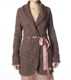 [Odd Molly]Jumble Knit Coat 883, Vintage Brown