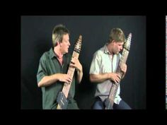 Chapman Stick players Mark White and Matt Rogers perform one of there original pieces.