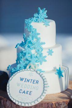 Winter Wedding Cake Foto: http://www.weddingmemories.de
