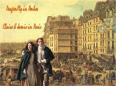 Outlander Fan art by me Claire & Jamie in Paris Dragonfly in amber season 2 www.facebook.com/elihymayafantasy