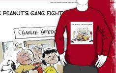 #charliehebdo #jesuischarlie LS #Tee by @LTCartoons #redbubble #sale #benefit #gift