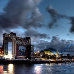 Iconic River Tyne. Newcastle.