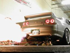 BOOM. Says the Nissan Skyline R33