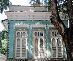 Azulejos antigos no Rio de Janeiro: Praça da Bandeira VI - rua Barão de Ubá