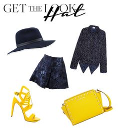 """""""Get the Look Hat Edition"""" by disneygal3 ❤ liked on Polyvore featuring rag & bone, Valentino, Penny Loves Kenny, MICHAEL Michael Kors and GetTheLook"""