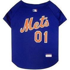 New York Mets MLB Dog Jersey