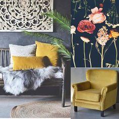 Nå er endelig velurputene og møblene på lager! #nyheter #velur #tekstil #møbler #trend_dsign