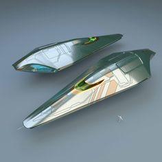 Luxury Spaceship by CGA32