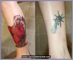 Tattoos Designs Ideas for Men and Women: Anime Tattoos Colorful Sleeve ...