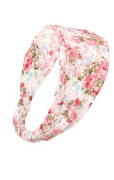 Deb Shops #floral #lace #headband