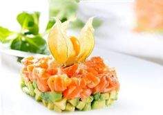 tartare di salmone con avocado