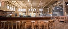 New Zealand inspired pop-up Restaurant & Bar housed in the historical Pier 29