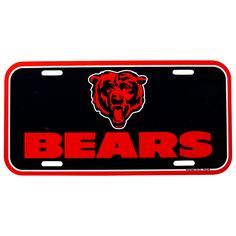 WinCraft Chicago Fire FC License Plate Frame and 2 Decals