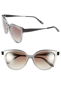9b9836c7d6 Bottega Veneta 56mm Retro Sunglasses Retro Look