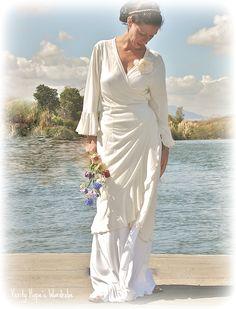 beach wedding dress Verity Hope's Wardrobe