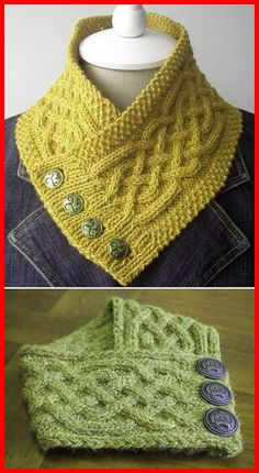 Crochet scarves 77053843613853510 - Celtic Cable Neckwarmer – Free Pattern Free Knitting Pattern Source by chaouchmurielle Knitting Blogs, Easy Knitting, Knitting For Beginners, Loom Knitting, Knitting Stitches, Knitting Projects, Knit Or Crochet, Crochet Scarves, Crochet Clothes