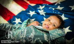 A photos symbolizing the patriotic Godfather and his love for her.  #retouchfactory