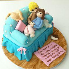 awwww very cute cake topper Anniversary Cake Designs, Happy Anniversary Cakes, Wedding Anniversary Cakes, Birthday Cake Writing, Dad Birthday Cakes, Husband Birthday Cake, Aniversary Cakes, Cake Designs For Girl, Rodjendanske Torte