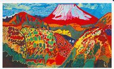 富士山 片岡球子展覧会 国立近代美術館 : 写真家・相原正明のつれづれフォトブログ