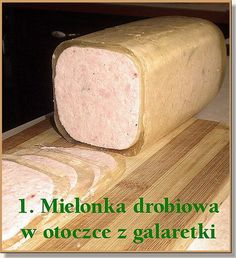 Polish Recipes, Polish Food, Charcuterie, Carne, Sausage, Cooking Recipes, Bread, Cheese, Diet