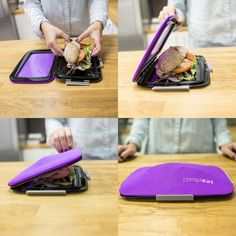 FoodSkin Flexible Lunchbox - From Fancy.com #WEird #Cool #Food