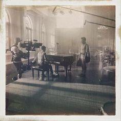 Chris and Darren bts filming 5x20