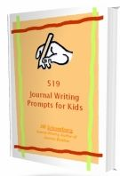 73 really cool writing prompts for a journal for kids to write about. some of these are a lot of fun.