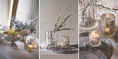 Nyttårsbordet Glass Vase, Table Decorations, Furniture, Home Decor, Homemade Home Decor, Home Furnishings, Interior Design, Home Interiors, Decoration Home