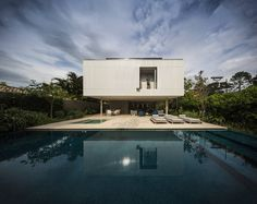 Magnificent Concrete Retreat in Brazil