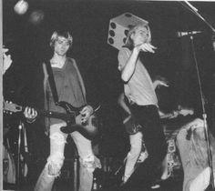 Kurt Cobain & Mark Arm