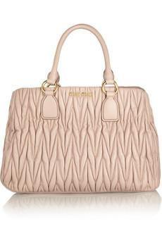 Miu MIu  handbag  purse  clutch matelasse  tote Fashion Handbags d359f34071128
