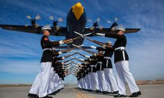The Silent Drill Platoon never looked finer. (U.S. Marine Corps photo by Staff Sgt. Oscar L. Olive/Released)