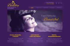 Beauty - Parlaour PSD Template by Keypxl.com on Creative Market