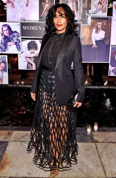 Tracee Ellis Ross and Zendaya were just a few of the celebs rocking bold looks at the Vanity Fair x Lancome event on Thursday, March 1 — pics White Outfits For Women, Tracee Ellis Ross, Hollywood Fashion, West Hollywood, Night Looks, Red Carpet Looks, Couture, Fashion 2020, Women's Fashion