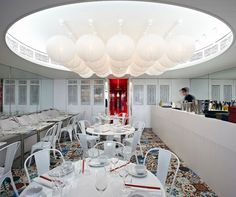 China Doll's beachside sister brings modern Asian cuisine and Iain Halliday design to Manly. China Beach, Soft Flooring, Modern Asian, Amazing Spaces, Interior Lighting, Ceiling Lights, Interior Design, Sydney, Commercial
