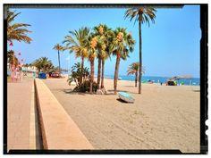 Playa de Almería / Almería beach, by @BeatrizBallesta
