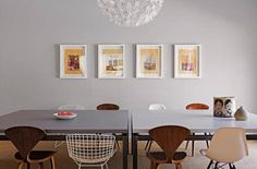 PICK--midcentury modern table top setting - Google Search
